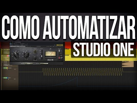 Como #Automatizar en #StudioOne