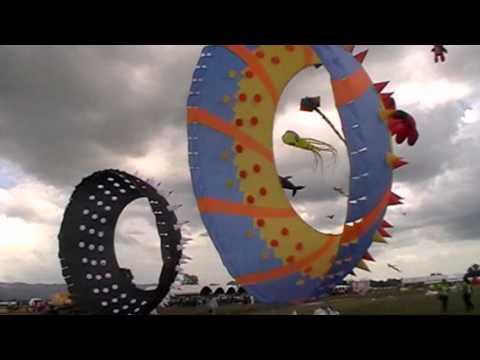 Macau hippo kite team in the 33rd Saturn International Kite Festival