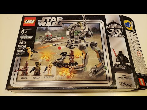 LEGO - 75261 - Clone Scout Walker 20th Anniversary Edition - Stop Motion Review