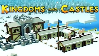 Kingdoms and Castles - Ep. 1 - Keep Building and Food Production! - Kingdoms and Castles Gameplay