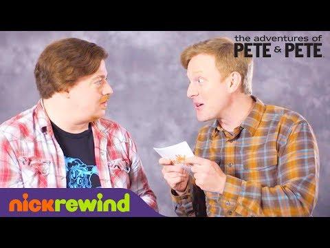 The Adventures of Pete & Pete Rapid Fire Challenge  PeteAndPeteTakeover  NickSplat