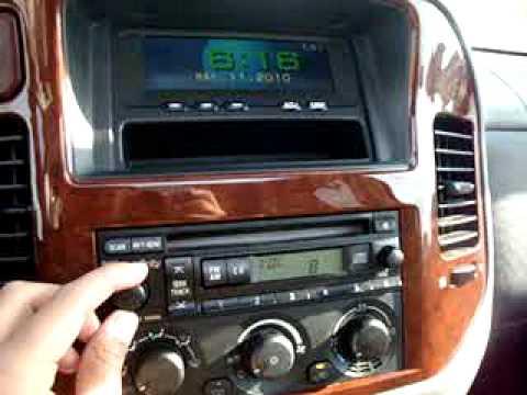 2003 Mitsubishi Montero Ltd  YouTube