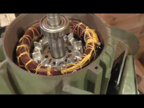 Three Phase motor - votage conversion