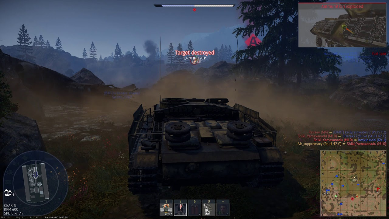 War Thunder Gameplay #1 - YouTube