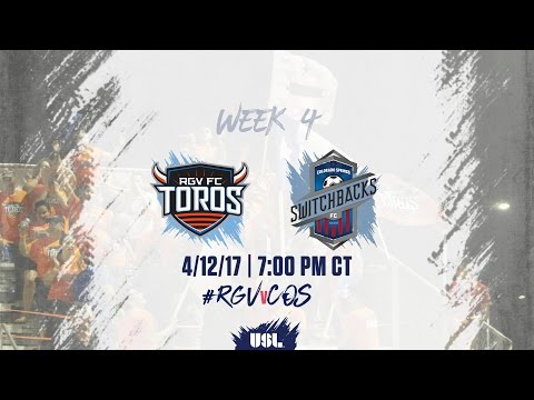 USL LIVE - Rio Grande Valley FC vs Colorado Springs Switchbacks FC 4/12/17