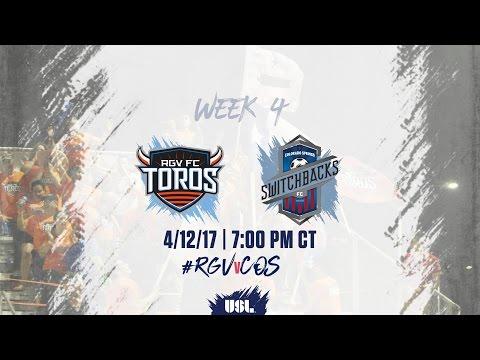 USL LIVE - Rio Grande Valley FC vs Colorado Springs Switchbacks FC 4/12/17