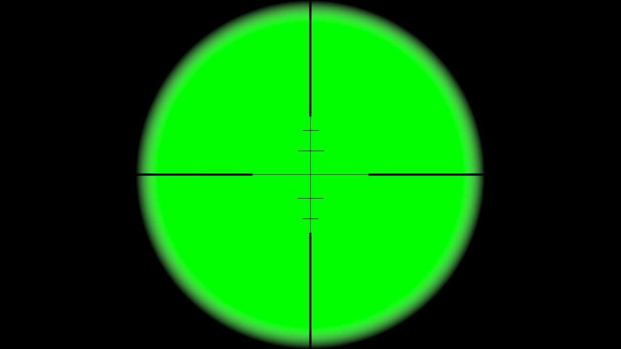sniper scope crosshair with black background 3 - HD ...