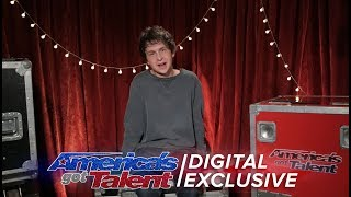 Singer Darcy Callus Relives His AGT Performance - America