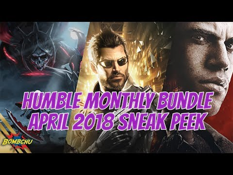 Humble Monthly Bundle | April 2018 Preview