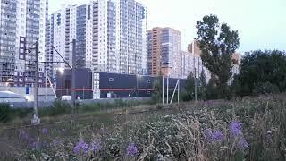 Последняя электричка в городе Мурино Станции Девяткино