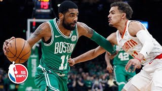 Kyrie Irving flirts with triple-double, Trae Young scores 26   Hawks vs. Celtics   NBA Highlights