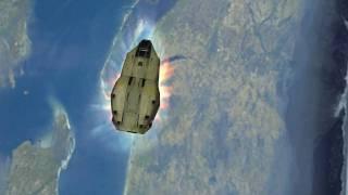 Halo: Combat Evolved Cutscenes - Pillar of Autumn Final HD