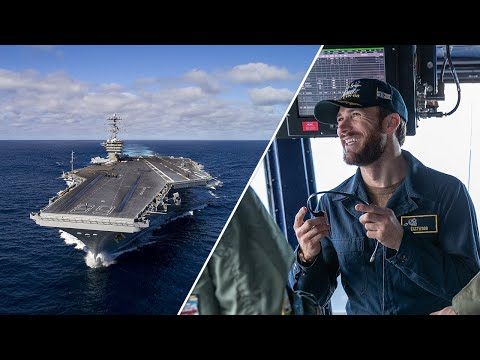 IN A DAY | AIRCRAFT CARRIER  Scott Eastwood and the Made Here team aboard the USS Nimitz