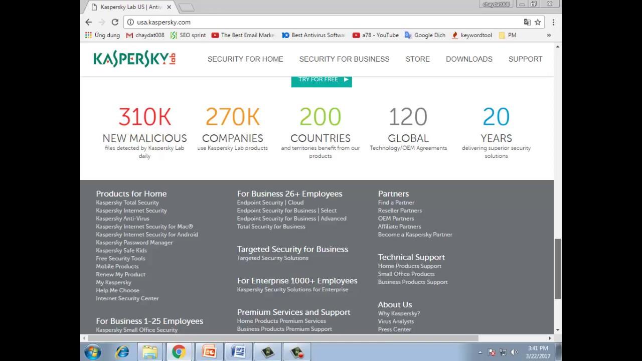 best internet security. kaspersky is a leading program in the