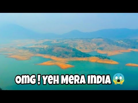 Guwahati To Shillong   120 Kms Ride   Umiam Lake Drone Shots   Tour Of North East   Tvs Ntorq