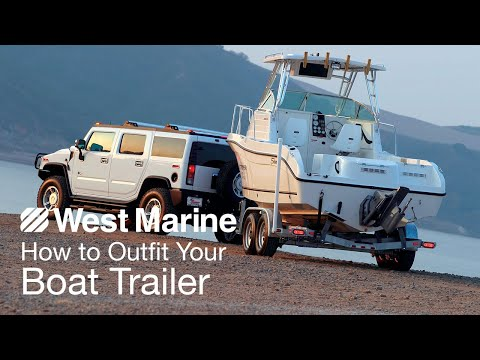 How To Outfit Your Boat Trailer