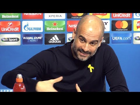 Pep Guardiola Full Pre-Match Press Conference - Manchester City v Basel - Champions League