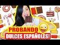 PROBANDO DULCES ESPAÑOLES! Yema de Huevo Quemada?! SandraCiresArt