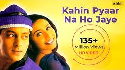 Kahin Pyaar Na Ho Jaye (HD) Full Video Song | Salman Khan, Rani Mukherjee | Alka Yagnik & Kumar Sanu