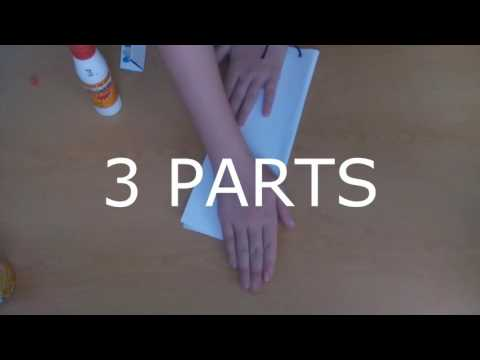 How to make a paper karambit