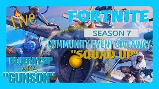 NEW FORTNITE SEASON 7/ COMMUNITY EVENT GIVEAWAY//ROAD TO 2K SUBS #LEGO thumbnail