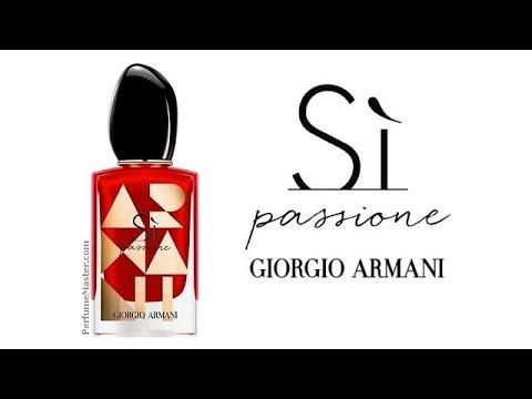 f53b1d3f918 Giorgio Armani Si Passione Limited Edition 2018 - YouTube