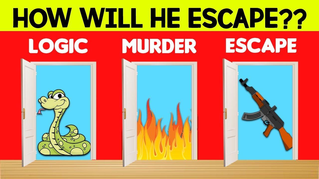 3 Riddles Popular on - Logic, Murder Mystery & Escape. Sherlock ...