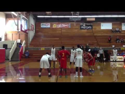 Kris Yanku (Taft High School) scores 30 on Lincoln @TP_Hday_Cla