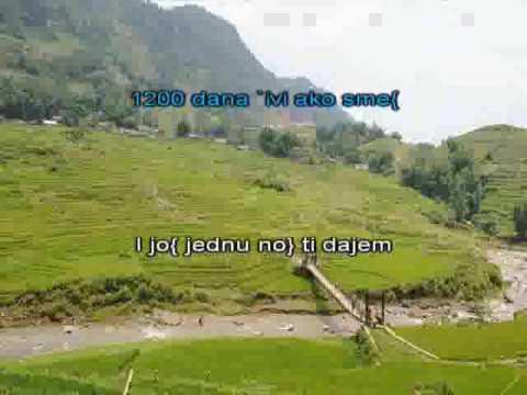 GOCA I TOSE   1200 MILJA [karaoke]