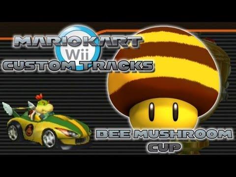 Mario Kart Wii Custom Tracks - Bee Mushroom Cup