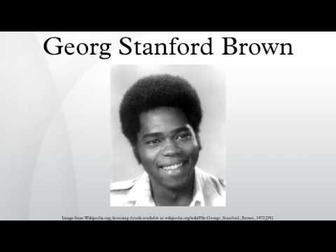 georg stanford brown biography