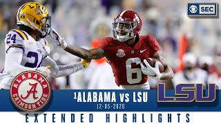 #1 Alabama Crimson Tide vs. LSU Tigers: Extended Highlights| CBS Sports HQ
