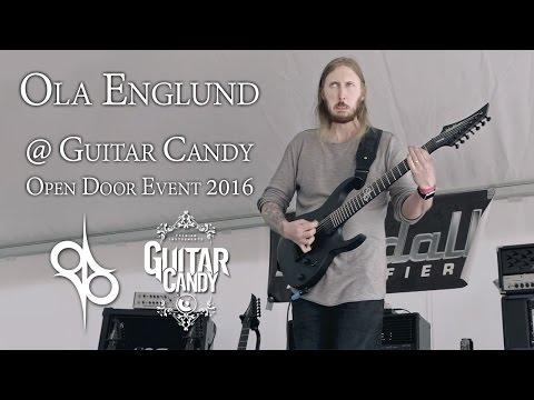 Ola Englund Guitar Clinic @ Guitar Candy Open Door Event 2016