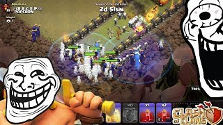 Troll Ordu İlen Troll Köye saldırdık !!! | Clash Of Clans