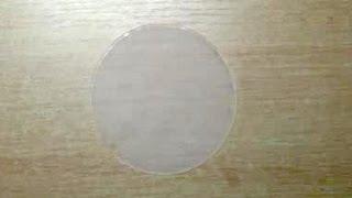 Эластичная прокладка из силиконового герметика(Возникла у меня потребность в очень эластичной прокладке, решил сделать ее из герметика. Материал с удивите..., 2013-02-04T00:00:15.000Z)