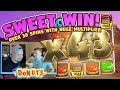 HUGE WIN!!! Donuts BIG WIN - Slots - Casino games (Online slots) from LIVE stream