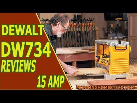 Dewalt DW734 Reviews | 15 AMP 12-1/2-Inch Benchtop Planer [2019]