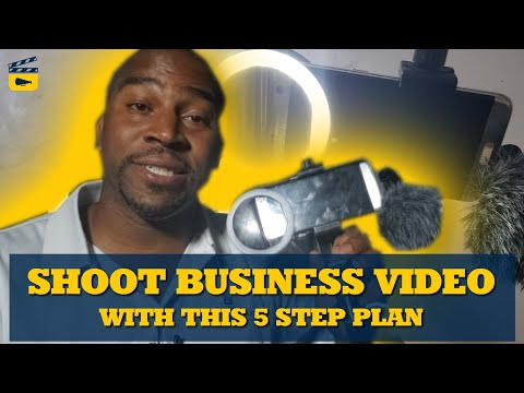 5 Steps To Shoot Business Video In Your Pop Up Studio
