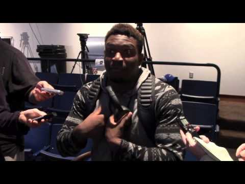 Rutgers postgame - Marcus Allen and Jason Cabinda