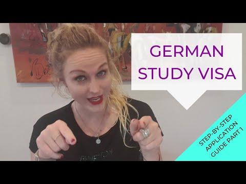 German Study Visa Application Process Part 1