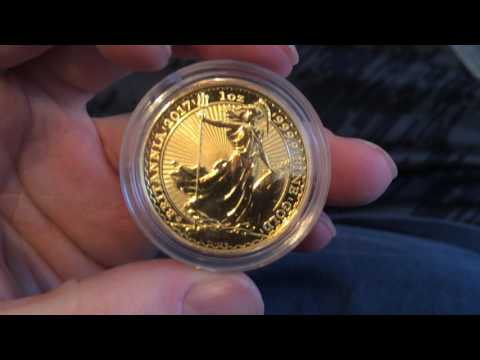 2017 1oz 30th Anniversary Gold Britannia