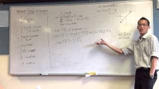 Calculating Indefinite Integrals by Substitution (2 of 2: Resolving θ)