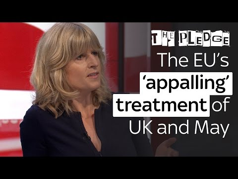 EU's 'appalling' treatment of the UK and May