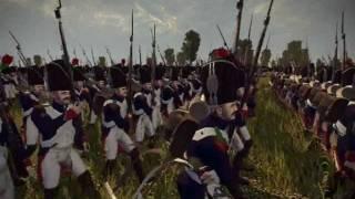 The Battle of Marengo 3d anim military music version using NTW3