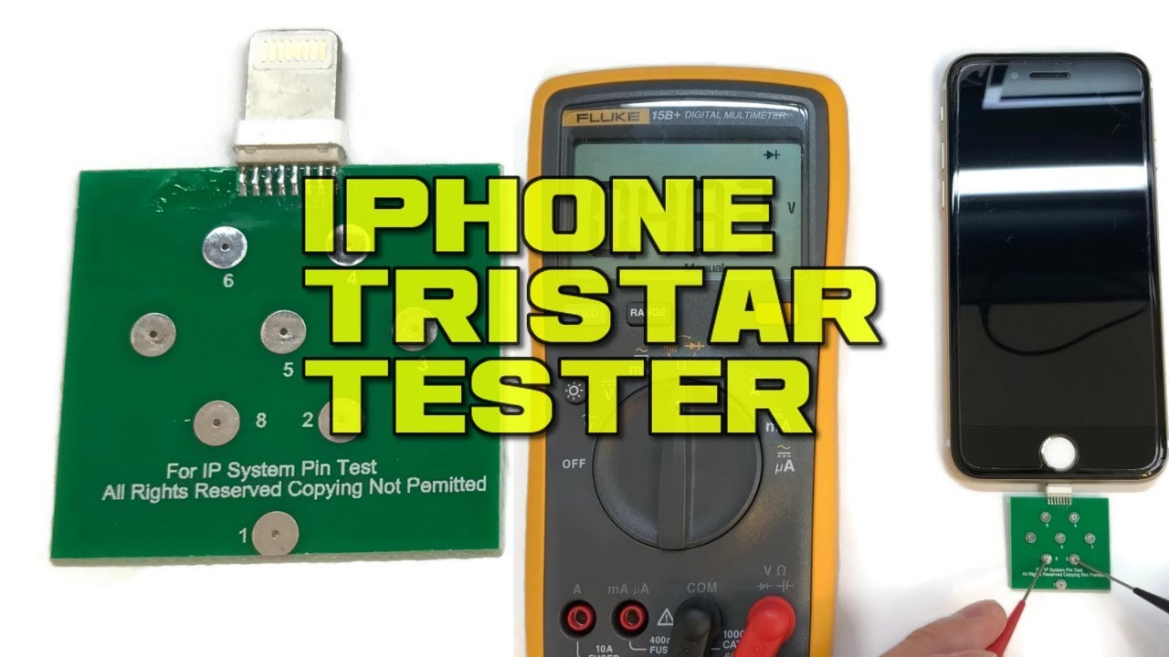 iphone tristar tester diagnostic tool hands on first trials youtube