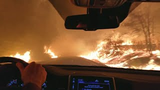How to Safely Drive Through Wildfires