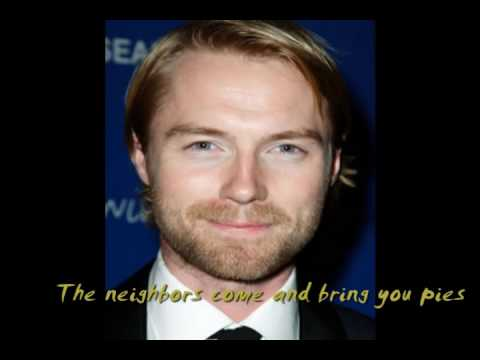Ronan Keating - mama's arm with lyric (songs for my mom)