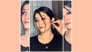 Indian Desi Makeup Tutorial : Simple Smokey Eyes.😍