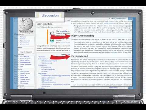 Wikipedia: Beneath the Surface