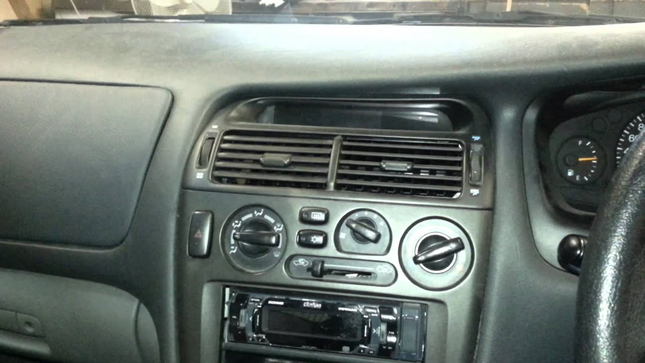 how to remove a radio from a mitsubishi magna te tl. Black Bedroom Furniture Sets. Home Design Ideas